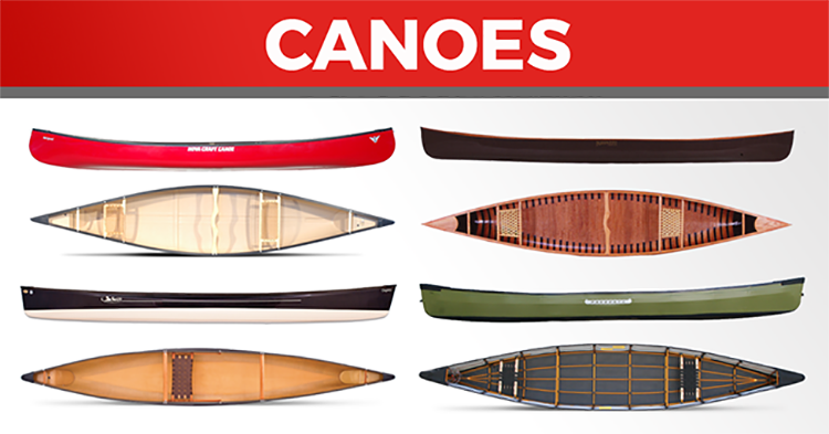 20 Hot Products for Summer - Canoes