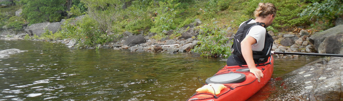 Getting In and Out of Your Kayak