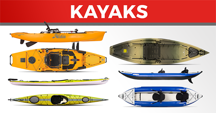 20 Hot Products for Summer - Kayaks