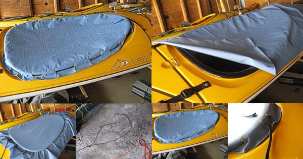 DIY Kayak Cockpit Cover
