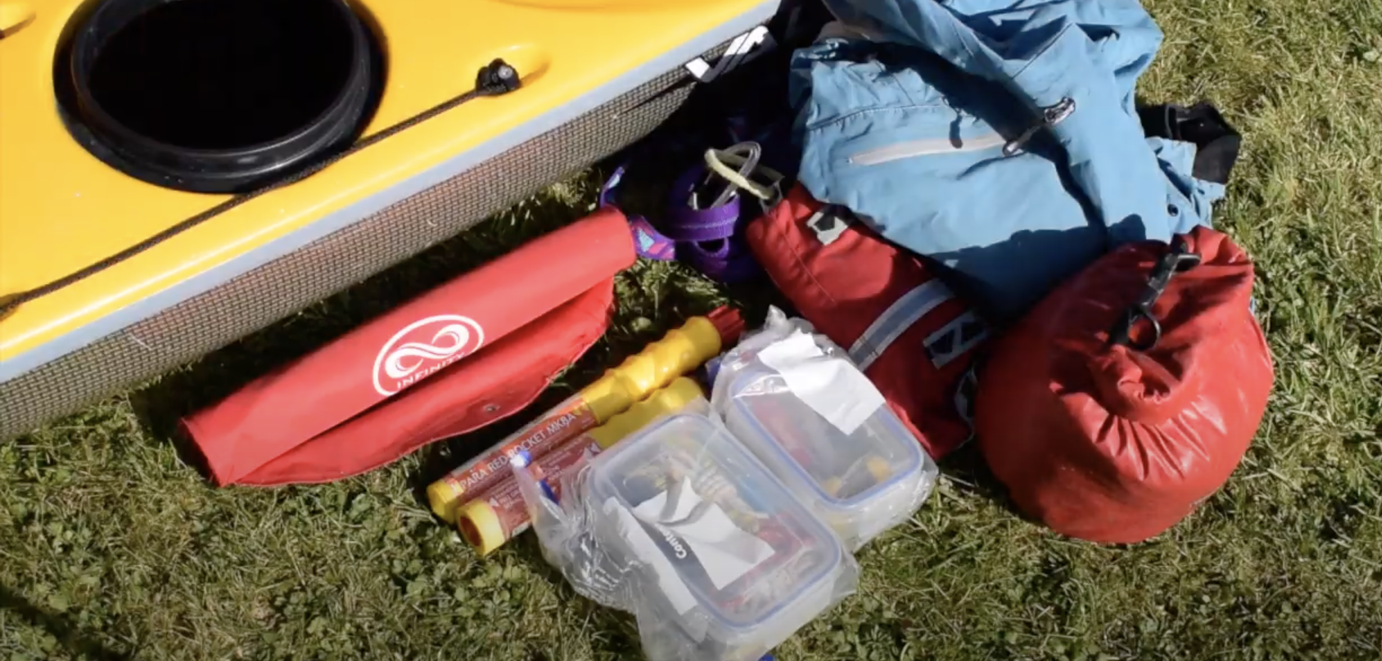 Kayak Safety Kit - Day Hatch