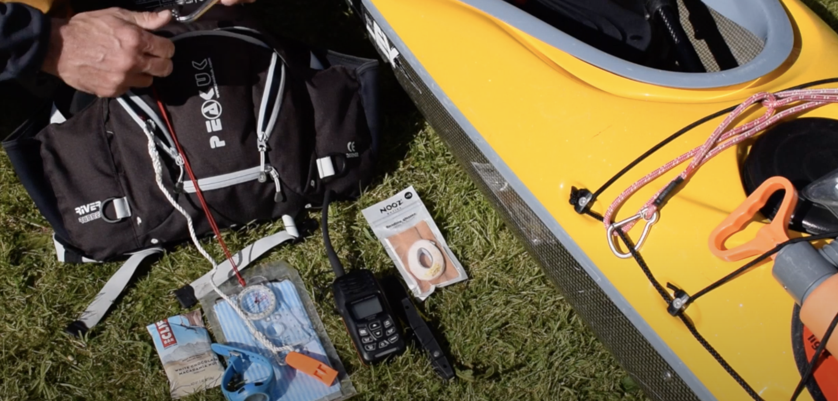 Kayak Safety Kit - PFD