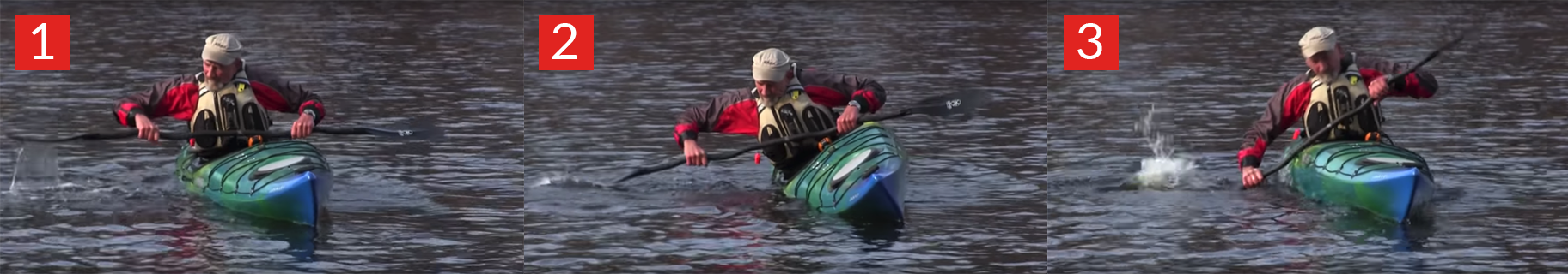 Kayak Low Brace Stroke