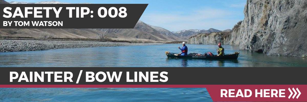 Safety Tip 008 - Painter/Bow Lines
