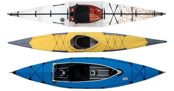 Evolution of Folding Kayaks