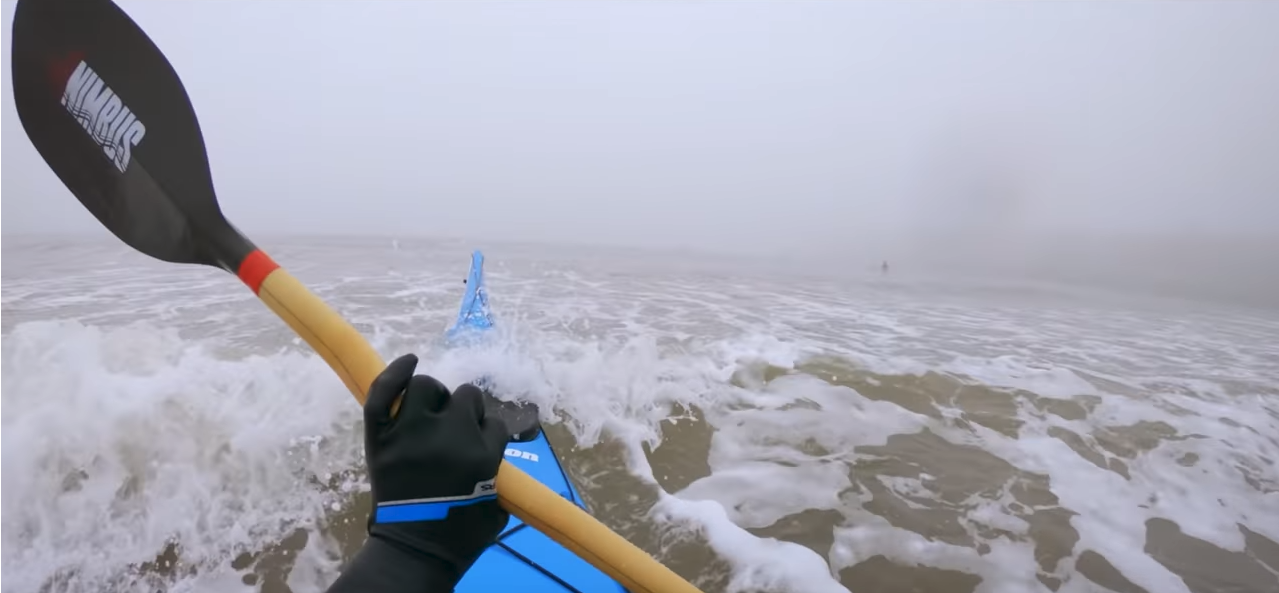 Hand Positioning for Paddling a Kayak