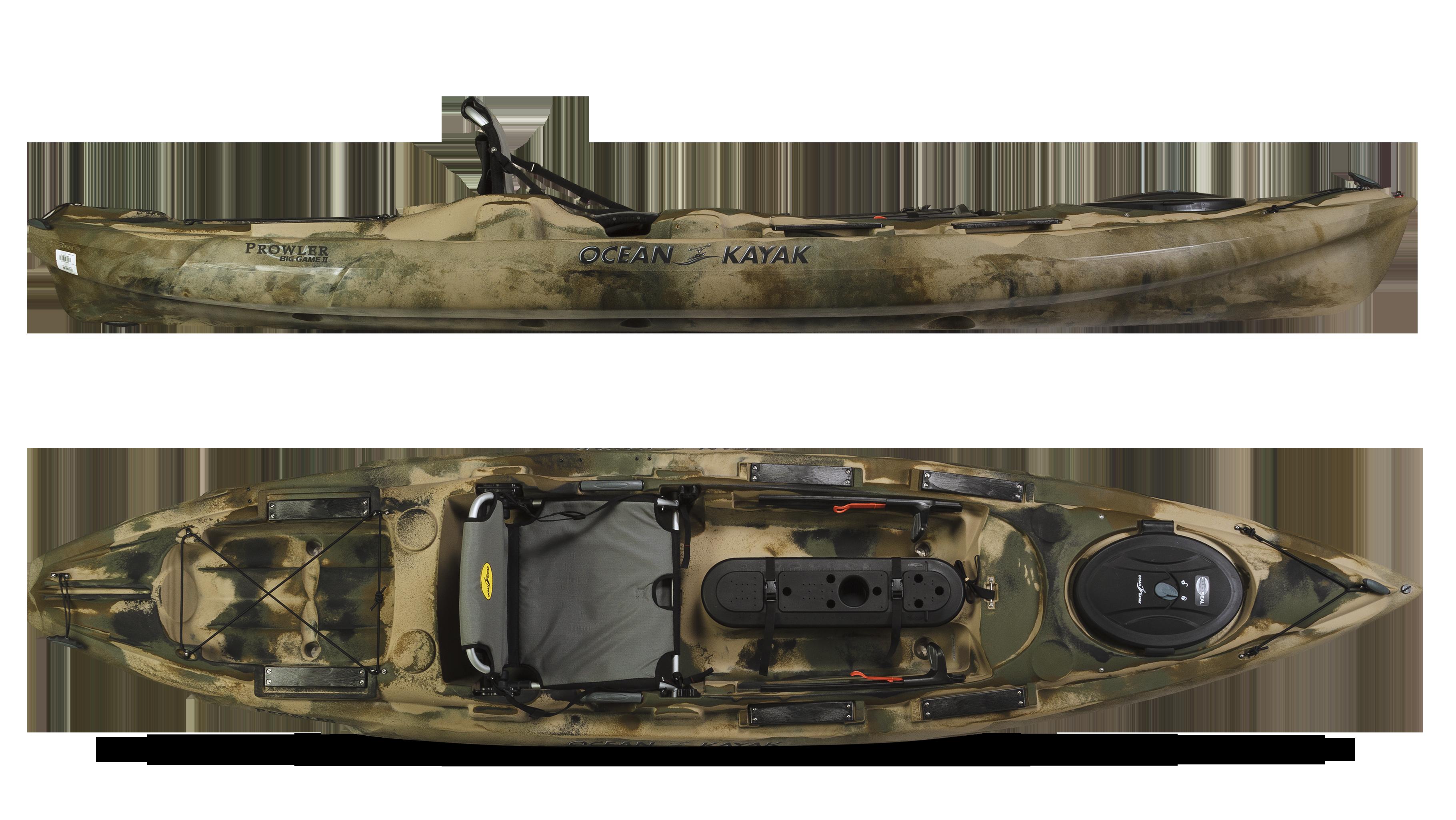 Prowler Big Game Ii Reviews Ocean Kayak Buyers Paddling Com