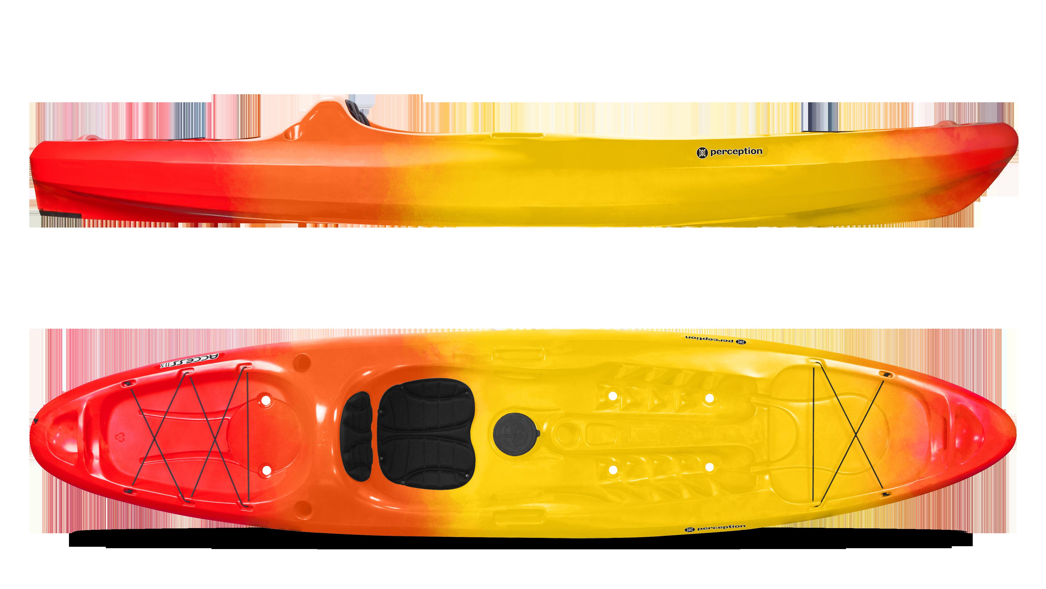 Kayak Gear Sold As Pair Medium Self Draining Scupper