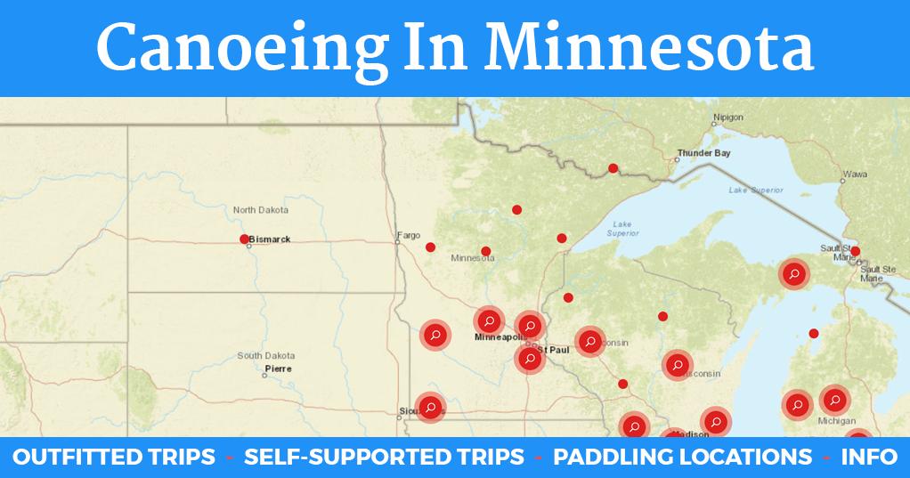 Canoeing in Minnesota